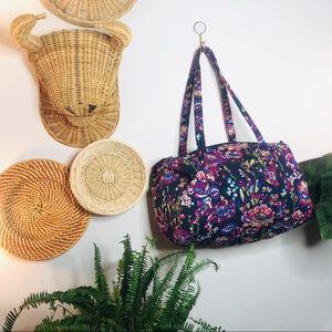 Vera Bradley bright floral burst small duffle bag